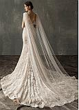 In Stock Chic Tulle Wedding Veil