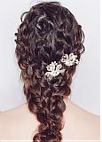 In Stock Eye-catching Wedding Hair Ornament With Rhinestones & Pearls