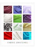 In Stock Fabric Swatches -- ORGANZA Swatch