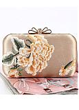 In Stock Amazing Party Handbags/Clutches With Embroidery